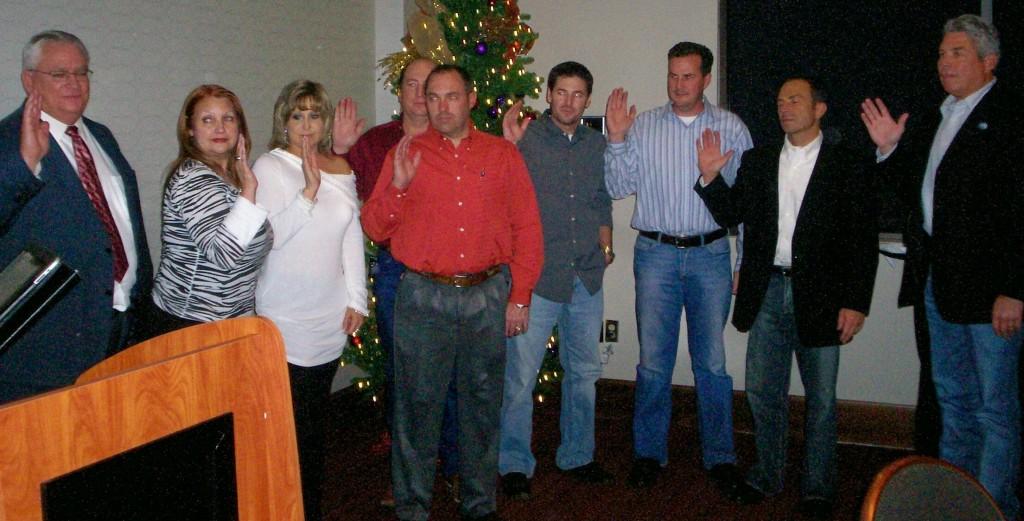 Homebuilders sworn in