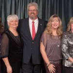 Steve Sullivan, center, of Deer Creek was selected Associate of the Year' by the Oklahoma State Home Builders Association. He is also Associate Council vice chairman. From left are Vanessa Shadix of the Edmond area, treasurer; outgoing chair Donna Cullins of Norman, Sullivan; incoming chair Gina Cox of OKC and treasurer Carol Clark of Choctaw