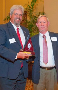 Steve Sullivan, left, and Terry Jennings, last year's Builder of the Year