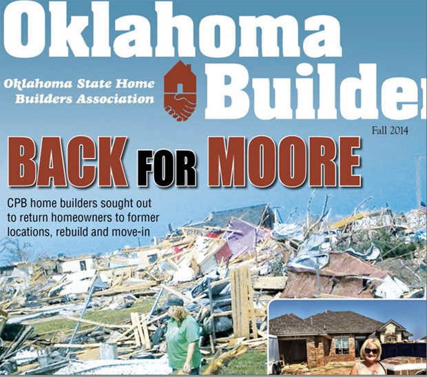 Cover of the Fall 2014 edition of Oklahoma Builder magazine.