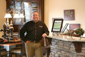 Dan Reeves of Landmark Fine Homes