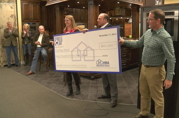 Check presentation at the Lindsey House